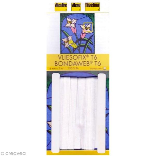 Vlieseline Vliesofix - T6 - Transparent - 5 mètres - Photo n°1