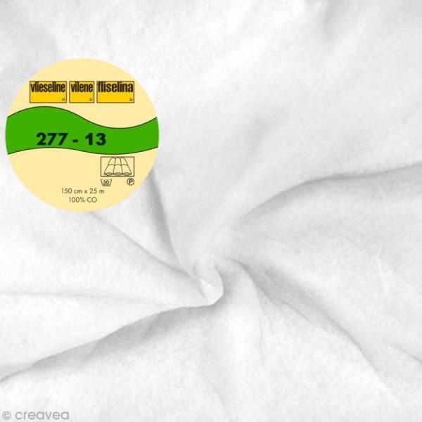 Vlieseline 277 entoilage volumineux à coudre - Largeur 150 cm - Blanc - Au mètre (sur mesure) - Photo n°1