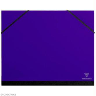 Carton / chemise à dessin - 26 x 33 cm - Indigo