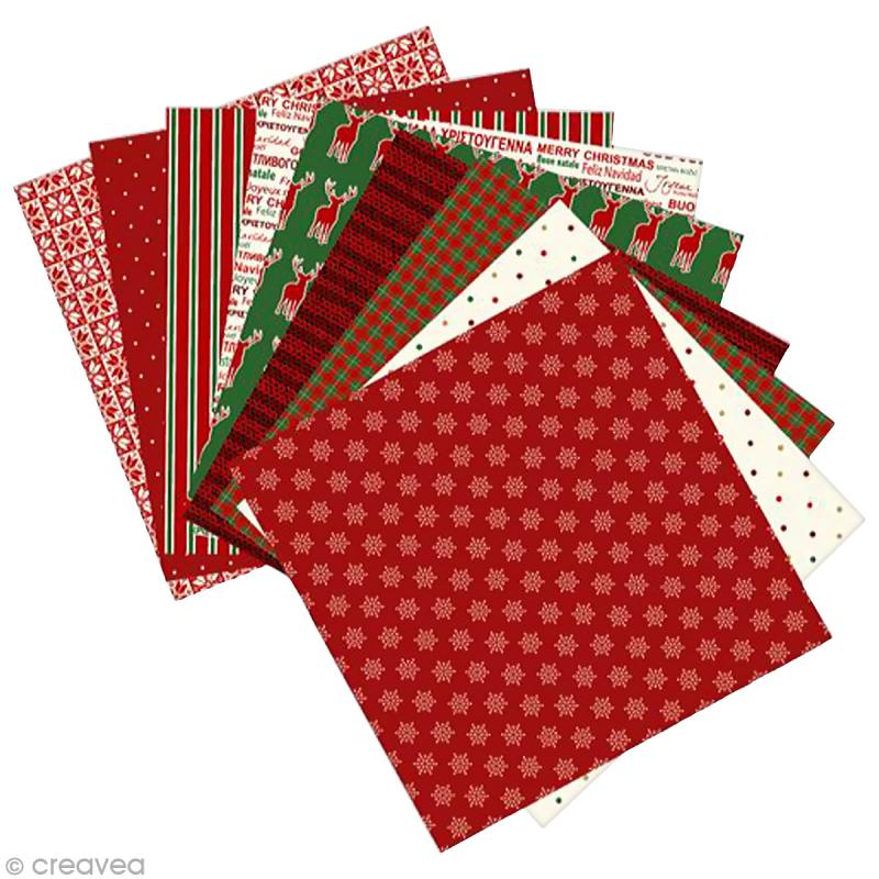 Papier origami paper touch 15 x 15 cm no l 60 - Papier origami noel ...