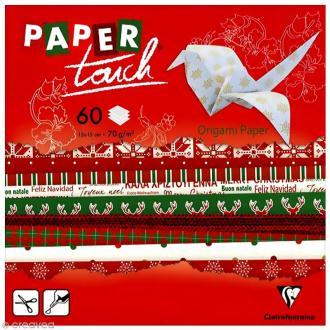 Papier origami Paper Touch - 15 x 15 cm - Noël - 60 feuilles