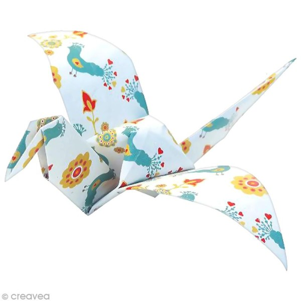 Papier origami Paper Touch - 15 x 15 cm - Cocooning - 60 feuilles - Photo n°3