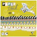 Papier origami Paper Touch - 15 x 15 cm - Cocooning - 60 feuilles