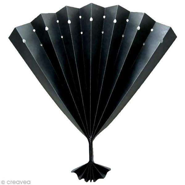 Papier noir pour activités manuelles - 20 feuilles A4 - 120 gr - Photo n°2