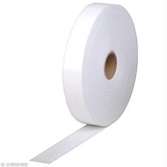 Rouleau de kraft gommé Blanc - 2,5 cm x 200 mètres