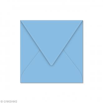 Enveloppe Pollen 120 x 120 mm - Bleu lavande - 20 pcs
