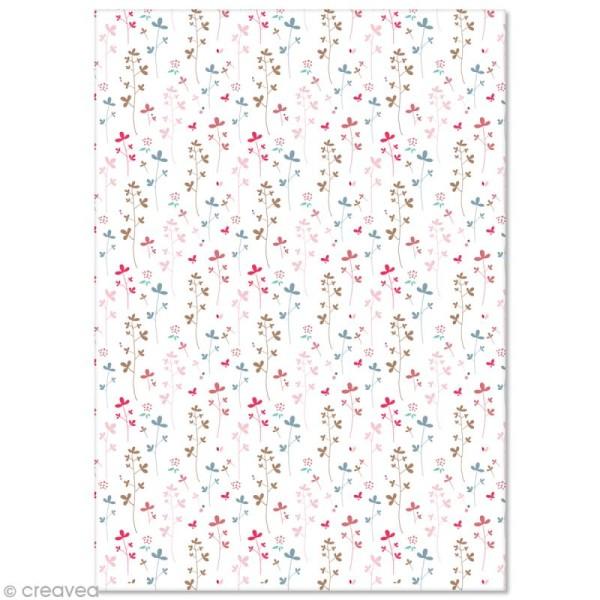 Papier Pollen imprimé A4 Evènement - Fleurs - 10 feuilles - Photo n°1