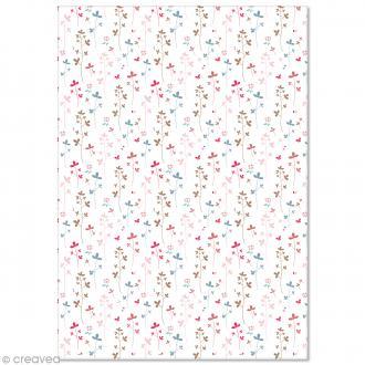 Papier Pollen imprimé A4 Evènement - Fleurs - 10 feuilles