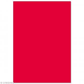 Papier Pollen A4 - 5 feuilles - Rouge groseille
