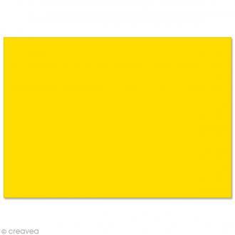 Papier Pollen carte 148 x 210 mm - Jaune soleil - 5 pcs