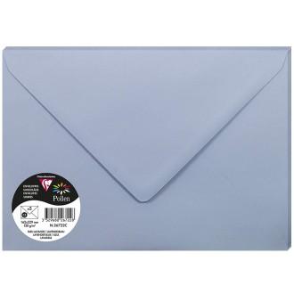 Enveloppe Pollen 162 x 220 mm - Bleu lavande - 5 pcs
