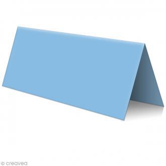 Marque place Bleu lavande - 85 x 80 mm - 5 pcs