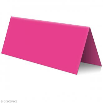 Marque place Rose fuchsia - 85 x 80 mm - 5 pcs