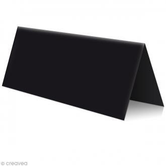 Marque place Noir - 85 x 80 mm - 5 pcs