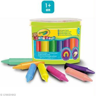 Maxi crayons à la cire - Crayola Mini Kids x 24