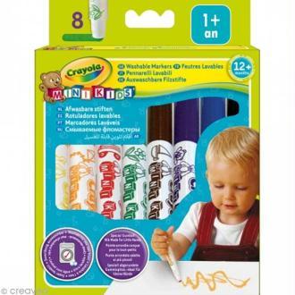Feutres bébé - Crayola Mini Kids x 8