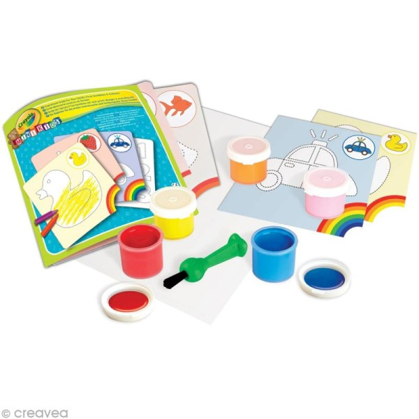 Kit peinture - Crayola Mini Kids - Photo n°2