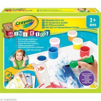 Kit peinture - Crayola Mini Kids