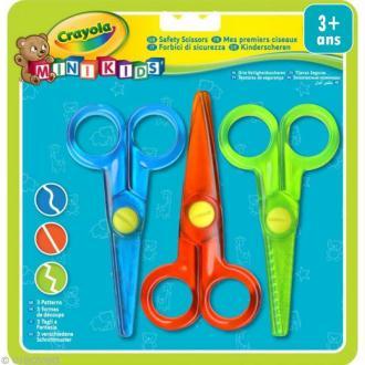 Kit mes premiers ciseaux - Crayola Mini Kids x 3