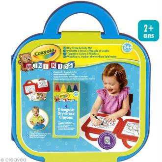 Valise à dessin effaçable - Crayola Mini Kids