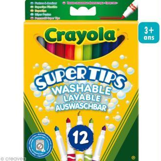 Feutres lavables - Crayola x 12