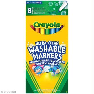Feutres fins lavables - Crayola x 8