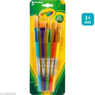 Pinceaux Crayola x 5