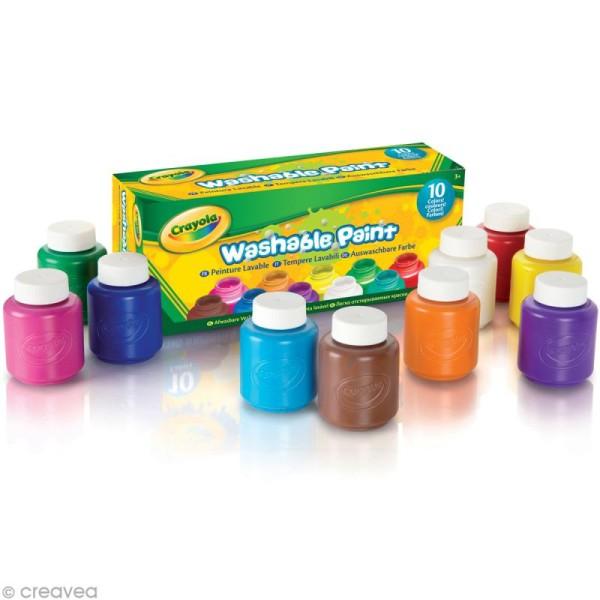 Peinture lavable - Crayola x 10 - Photo n°2