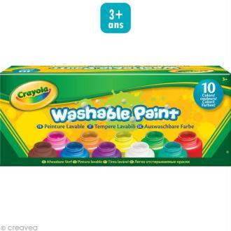 Peinture lavable - Crayola x 10