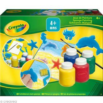 Kit jeux de peinture - Crayola