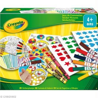 Kit jeux de gommettes - Crayola
