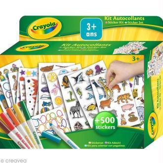 Kit stickers et autocollants - Crayola