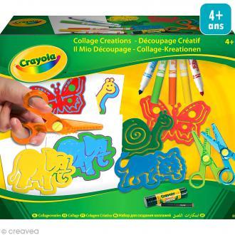 Kit de découpage créatif Crayola