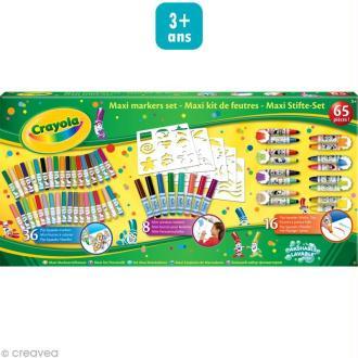 Maxi kit feutres lavables - Crayola x 60