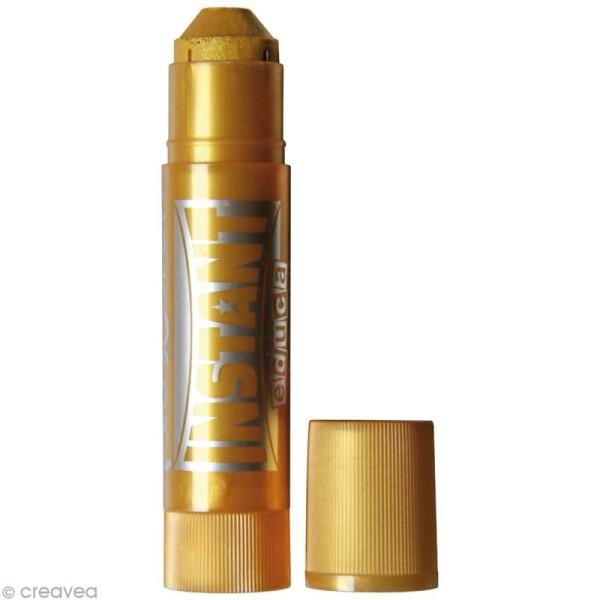 Gouache solide Playcolor en stick - Couleurs métalliques - 6 tubes de 10 g. - Photo n°3