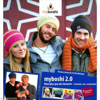 Livre bonnet My Boshi n°2.0 - Bien plus que des bonnets - 23 modèles