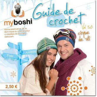 Mini livre My Boshi n°5 - 4 créations au crochet