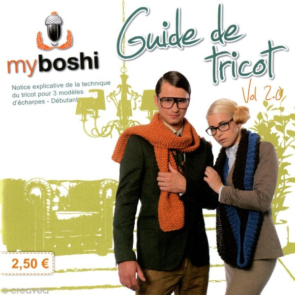 Mini livre My Boshi n°2 - 3 créations en tricot - Photo n°1