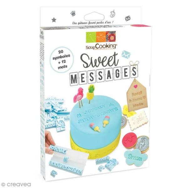 Kit cuisine créative - Sweet messages - 33 pcs - Photo n°2