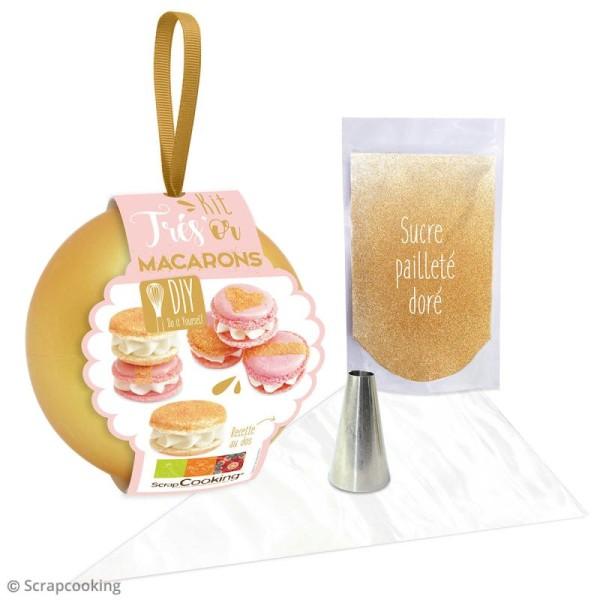 Kit Cuisine créative ScrapCooking - Très'or Macarons - Photo n°3