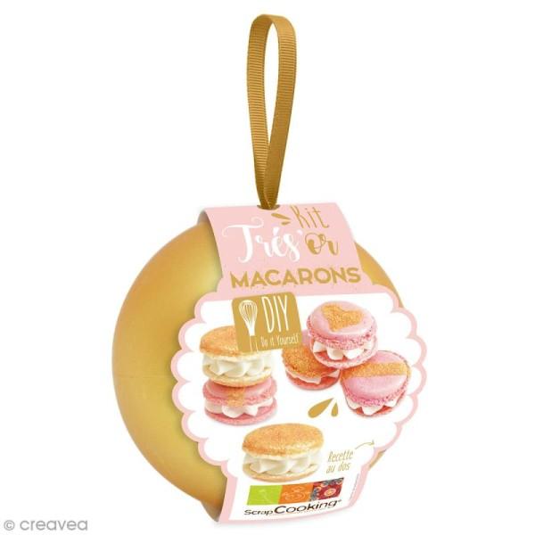 Kit Cuisine créative ScrapCooking - Très'or Macarons - Photo n°1