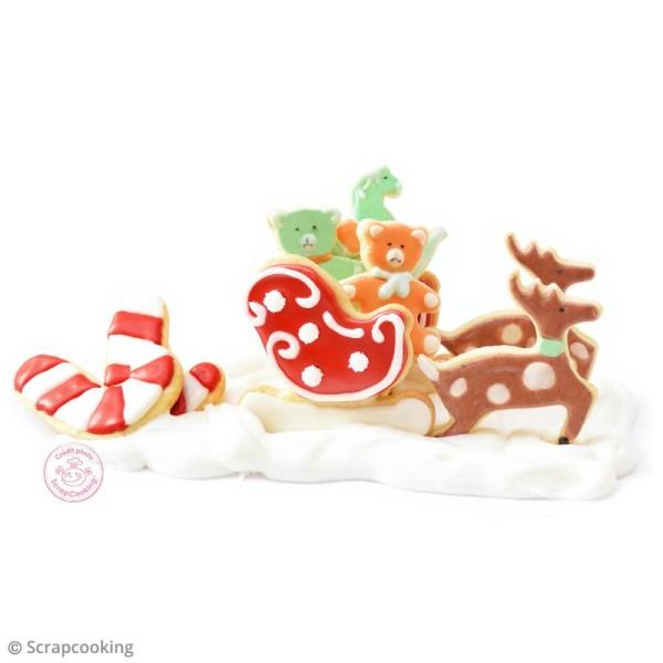 Kit découpoirs inox ScrapCooking - Lutins de Noël - 5 pcs - Photo n°4