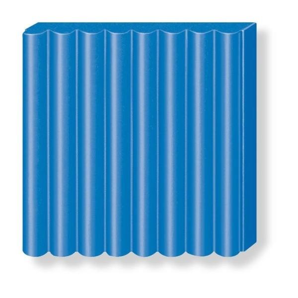 Pâte Fimo soft couleur Bleu Pacifique n°37, Pain polymère de 57g à cuire au four - Photo n°2