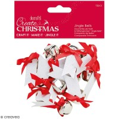 Assortiment de Grelots à noeuds de Noël - Create Christmas - 12 pcs