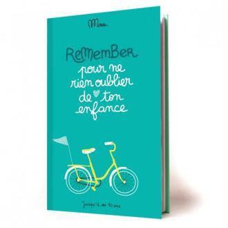 Cahier d'enfance Pour ne rien oublier de ton enfance Minus Editions