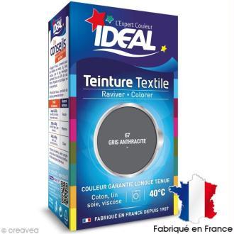 Teinture Tissu Idéal liquide gris 67 mini