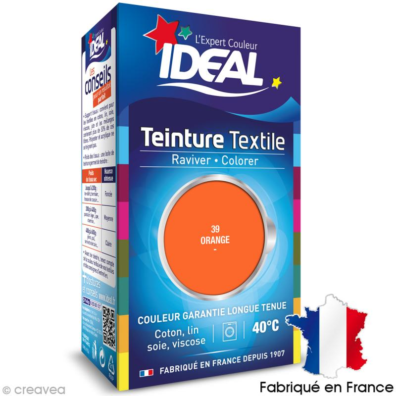 teinture tissu id al liquide orange 39 mini teinture coton creavea. Black Bedroom Furniture Sets. Home Design Ideas