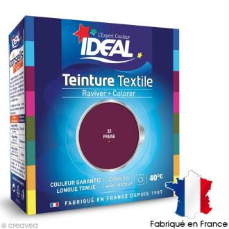 Teinture Tissu Idéal liquide prune 33 maxi