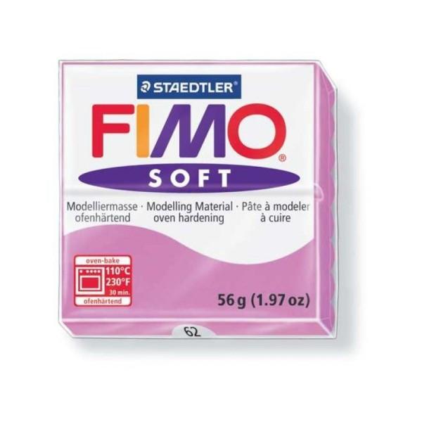 Pâte Fimo soft lavande n°62 - Photo n°1