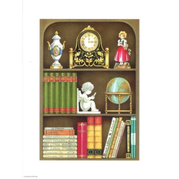 Image 3D - astro 488 - 24x30 - étagère livres - Photo n°1
